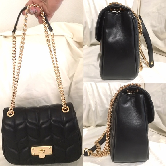 Michael Kors Handbags - NWT Michael Kors Medium Peyton Quilted Shoulder